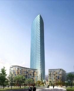 Bilbao: posata la prima pietra della torre di Pelli