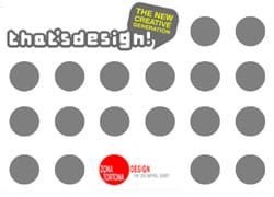 Zona Tortona Design 2007: nasce That's Design!
