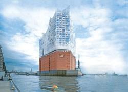 Amburgo: posata la prima pietra della Elbe Philarmonic Hall