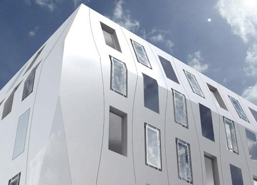 Bordeaux inaugura un hotel in Corian