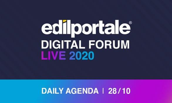 Edilportale Digital Forum, la terza giornata della fiera virtuale dell'edilizia
