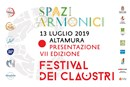 """Spazi armonici"", 80 Claustri in scena ad Altamura"