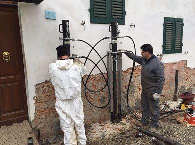 Consolidamento fondazioni in muratura in provincia di Arezzo