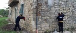 Consolidamento abitazione in sasso in provincia di Chieti