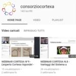 Il canale YouTube del Consorzio Cortexa