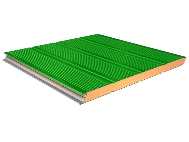 I pannelli metallici coibentati per facciate della linea TERMOPARETI®
