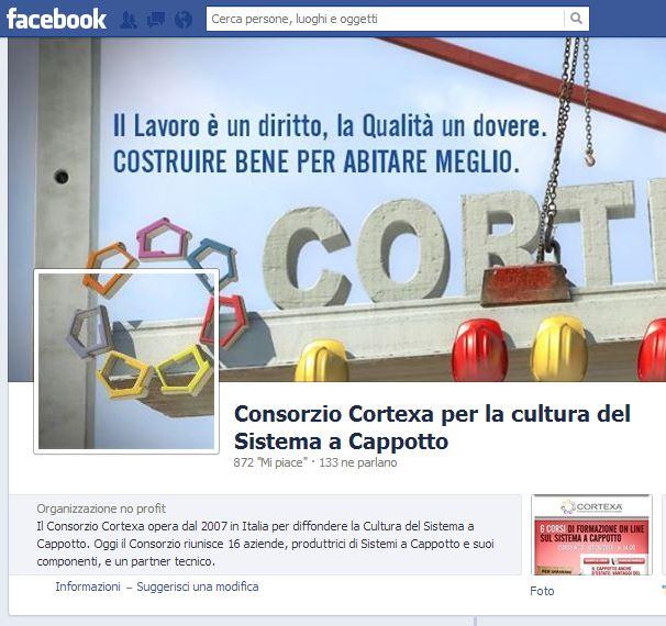 Consorzio Cortexa su Facebook