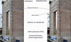 Beni culturali a rischio crollo, Enea li individua con il 'moto magnificato'