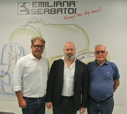 Il presidente della Regione Emilia-Romagna visita Emiliana Serbatoi