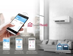 Con LG Libero Plus R32 e Smart ThinQ la temperatura di casa è sempre sotto controllo