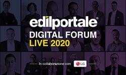 Edilportale Digital Forum, termina la prima edizione della fiera virtuale dell'edilizia