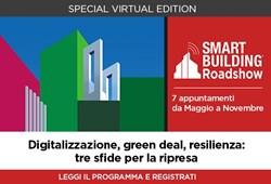 Anitec-Assinform: al via lo Smart Building Roadshow 2021