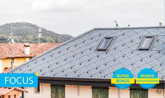 Tegole, coppi e scandole: soluzioni tradizionali ed innovative per il tetto
