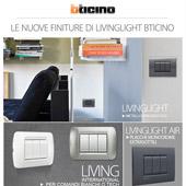 Livinglight di BTicino: nuove finiture