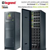 Nuovi UPS modulari Legrand: efficienza certificata fino al 96%