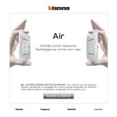 Air, la rivoluzione sottile di BTicino