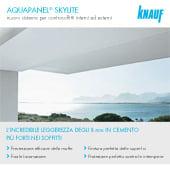 Controsoffitti in cemento Aquapanel: estremamente sottili e leggeri