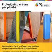 Protezioni su misura per pilastri