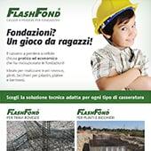 Cassero a perdere per fondazioni Flashfond