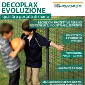 Recinzione protettiva plastificata per uso residenziale, industriale e sportivo