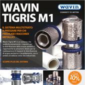 Raccordi metallici Tigris M1 Wavin: scopri la promozione