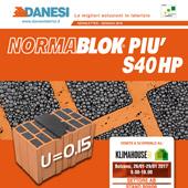 Scopri il nuovo blocco da tamponamento di Danesi per pareti altamente performanti