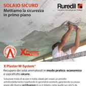 Solai in tutta sicurezza con X Plaster W-System di Ruredil