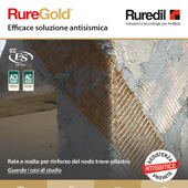 Resistenza antisismica provata con Ruregold