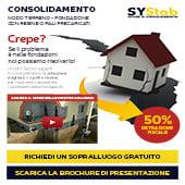 Consolidamento fondazioni e terreni: scopri le tecniche SYSTAB