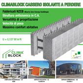 Climablock per edifici NZEB con struttura antisismica