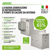Refrigeratore aria-acqua e pompa di calore tutto in uno: Aermec serie CL