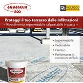 Proteggi il tuo terrazzo dalle infiltrazioni con Aquascud Volteco