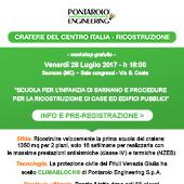 Climablock per la ricostruzione nel Centro Italia