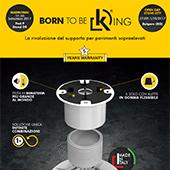 KING: la rivoluzione del supporto per pavimenti sopraelevati by DPS Floor