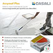 Impermeabilizzante liquido Acryroof Plus by Casali