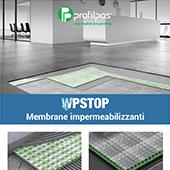 Membrane impermeabilizzanti WPstop Profilpas per pavimenti e rivestimenti