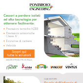 Casseri a perdere isolati hi-tech Pontarolo Engineering