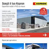 Capannoni mobili Kopron per ogni settore