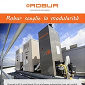 Robur sceglie la modularità per installazioni residenziali e industriali