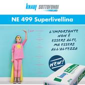 Knauf: massetto fluido premiscelato per applicazioni a bassissimo spessore