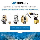 Infrastrutture e tecnologia: sistemi di posizionamento Topcon
