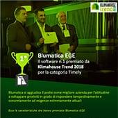 Premio a Blumatica per l'efficienza energetica da Klimahouse Trend 2018