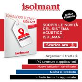 Novità Sistema Acustico Isolmant: scarica il catalogo!