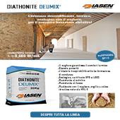 Diathonite Deumix+: l'intonaco deumidificante e termico a base sughero