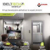 Libertà di movimento in spazi minimi: nuovo Miniascensore Beltech Mini by CEAM