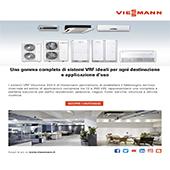 Efficienza, semplicità e comfort con i sistemi di climatizzazione VRF di Viessmann