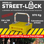 Barriera stradale antiterrorismo Street-Lock
