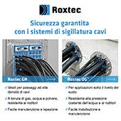 Sistemi di sigillatura cavi Roxtec