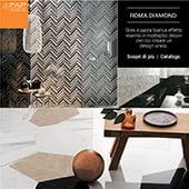 Roma Diamond by Fap ceramiche - scarica il catalogo