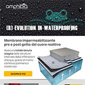 Amphibia by Volteco: la membrana impermeabile dal cuore reattivo